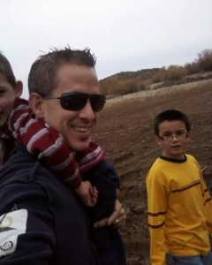 Me and my boys in the mud