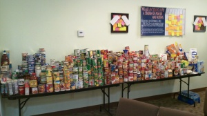 THE PLACE food drive ~ October 2010 (2)