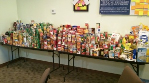 THE PLACE food drive ~ Oct 2010